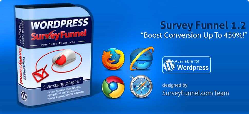 Survey Funnel - New Innovative Wordpress Plugin