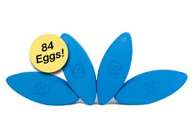 Three Minute Egg Yoga Block Studio Stocker